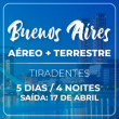 PACOTE BUENOS AIRES - 04 NOITES - FERIADO TIRADENTES - VOO GOL (S. PAULO/GRU)